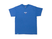 Blue Short Sleeved T-shirt With Dream Sport Design