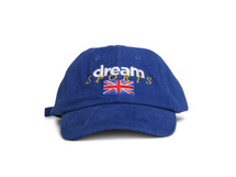 Royal Blue Dad Cap With Dream Sports Design