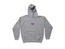 Heather Grey Hoodie With Dream Sports Design