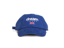 Blue Dad Cap With Dream Sport Design