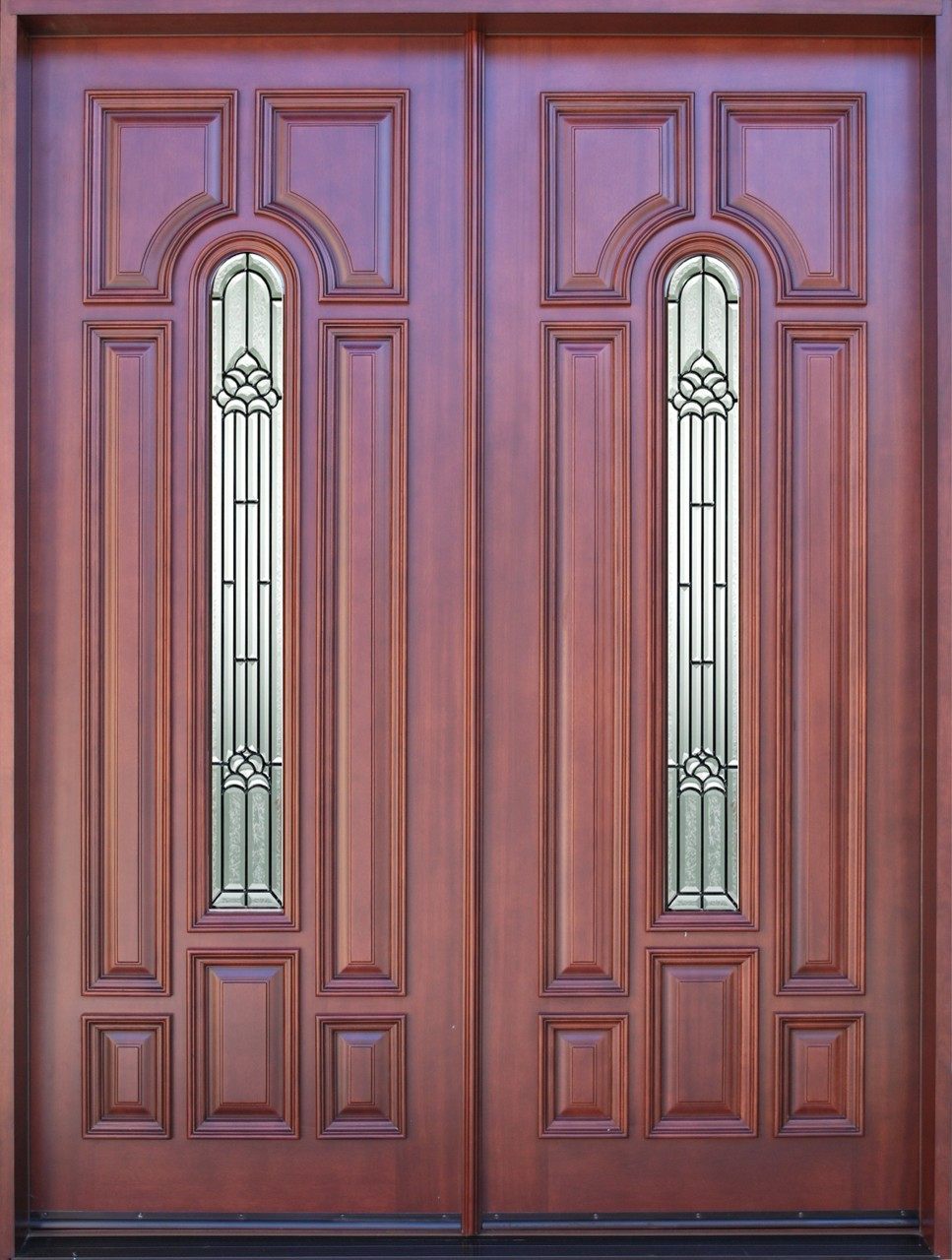 Discount door center solid wood entry doors exterior for Solid wood front doors