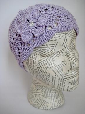 Spring summer crochet hat