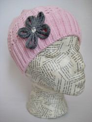 Spring fall crocheted hat for girls