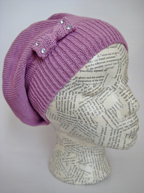 Spring Fall beret hat for girls