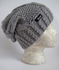 Slouchy winter beanie hat