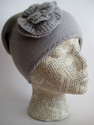 Slouchy winter beanie for women
