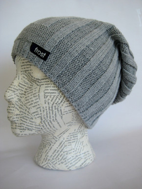 Slouchy winter hat for women