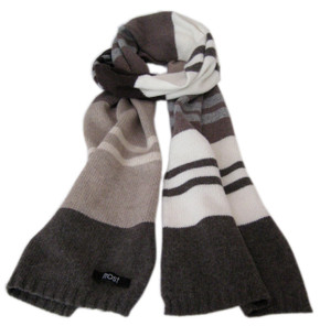 Warm winter scarf for men