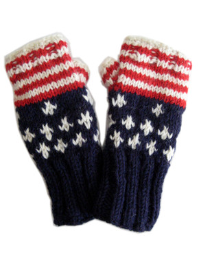 Woolen hand warmers for women