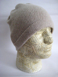 Unisex cashmere beanie hat