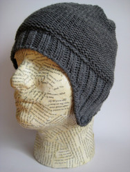 Aviator beanie hat for men