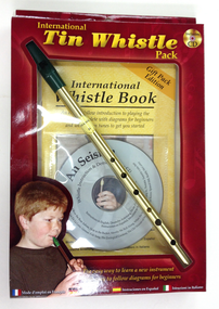 Tin Whistle + Book + CD