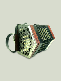 Metal ended Lachenal Concertina