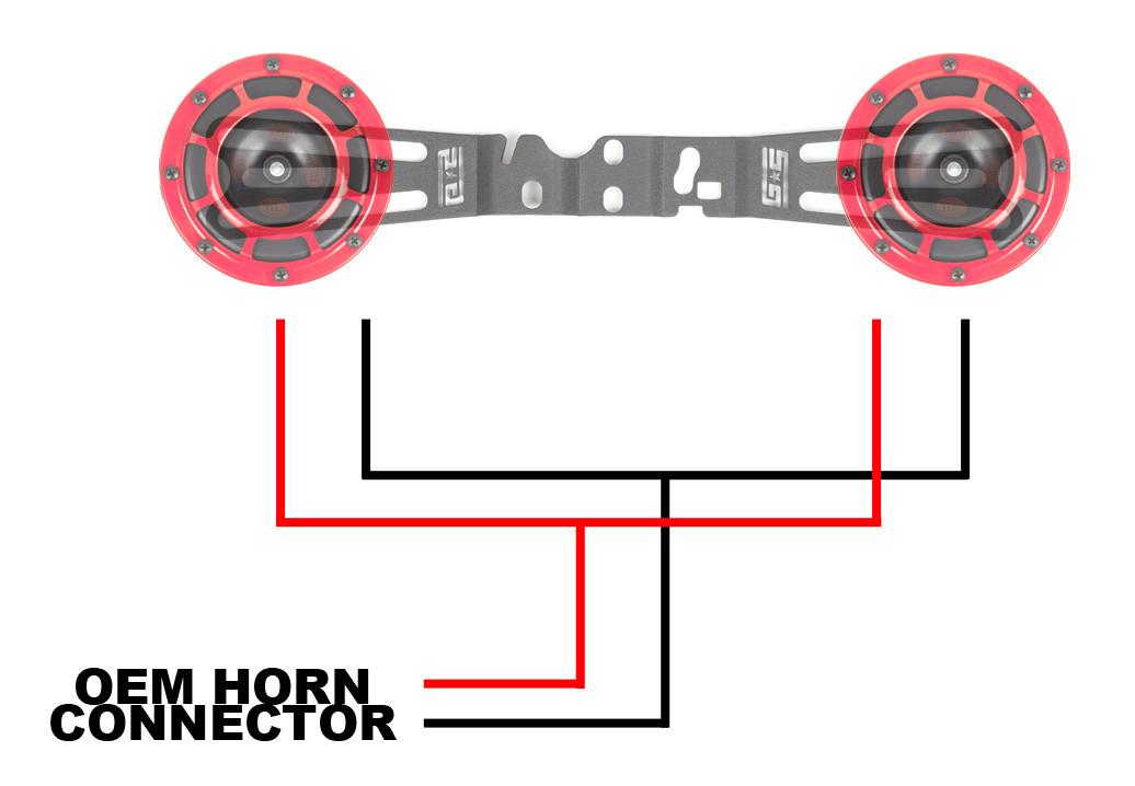 Grimmspeed Hella Horn Wiring Harness 15 Wrx Sti