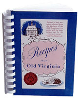 Recipes of Old Virginia Cookbook