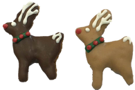 Mini Reindeer (Case of 36 treats PB & Carob) NEW!!!
