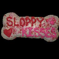 "6"" Sloppy Kisses Bone (Case of 18 treats) NEW SIZE!!!"