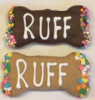 RUFF Medium Bones (Case of 18 treats)