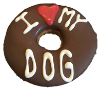 I LOVE MY DOG Donut (Case of 18)