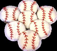 Baseballs (Case of 18 treats)