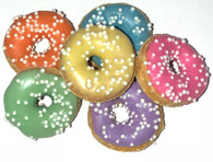 Spring Mini Donuts (Case of 36 treats)NEW !!!
