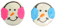 Earmuff Snowmen (Case Of 18 treats)