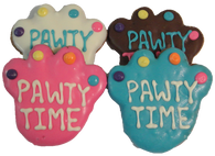 Pawty Time Large Paws (Case of 18 treats)