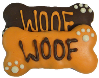 Fall Woof Medium Bone (CASE OF 18 TREATS)