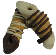 Carob and Yogurt  Mini Cannoli (CASE OF 36)
