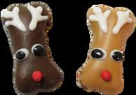 Mini Reindeer Bone (Case of 36 treats PB & Carob)