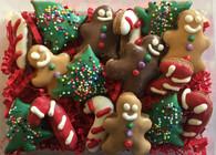 Gingerbread Mini Treat Gift Box (6 Gift Boxes)