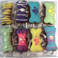 Spring Mini Bone Gift Box (Case of 6 treat boxes)