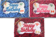 Assorted Jumbo Happy Birthday Bone Gift Box (CASE OF 6 GIFT BOXES) NEW !!!