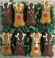 Mini Reindeer Treat Gift Box (6 Gift Boxes) NEW !!!