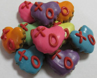 X O Mini Hearts (Case of 36 treats)
