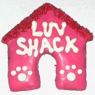 Love Shack Dog House (Case of 18 treats) NEW!!!