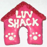 Love Shack Dog House (Case of 18 treats) NEW!!!
