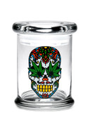 Medium Skull Pop-Top Jar