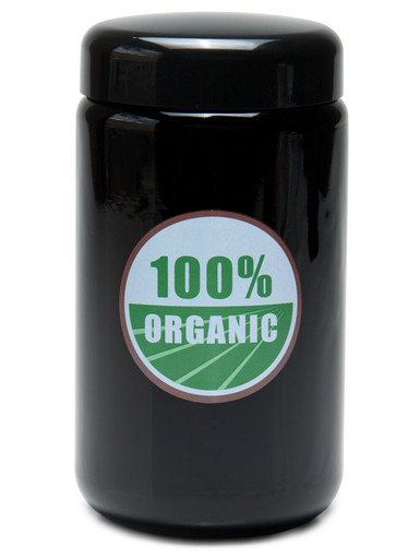 X-Large 100% Organic UV Screw Top Jar