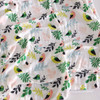 Organic Cotton Triple Layer Muslin Blanket, Tropical Birds