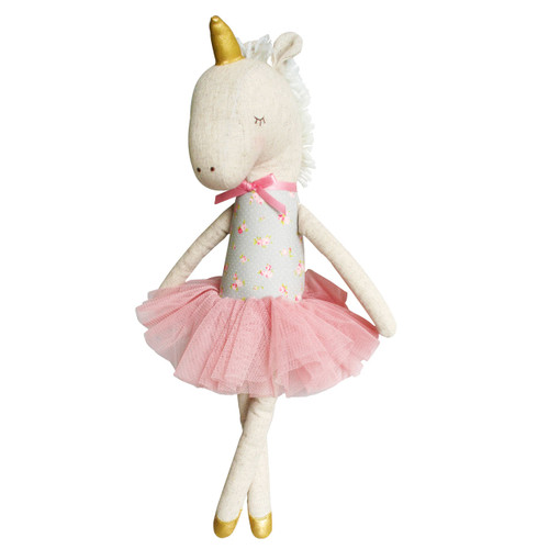 Unicorn Doll, Blush/Gold