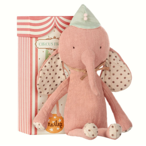 Elephant with Hat, Rose Pink