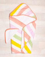 Hooded Towel Set, Cabana Stripe