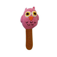 Owl Rattle, Pink