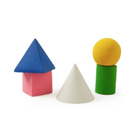 Geometric Figures, Set of 5
