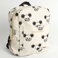 Mini Rodini Mouse Backpack, Black