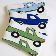 Eco Truck Baby Blanket, Royal Blue