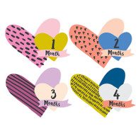 Heartbreaker Belly Stickers, Lucy Darling (12)