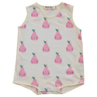 All-Over Pear Snap Onesie
