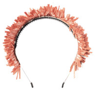 Fringe Crown Headband, Sunset